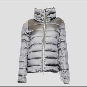 VEGAN Puffer Iris Jacket Mid Grey Size 1